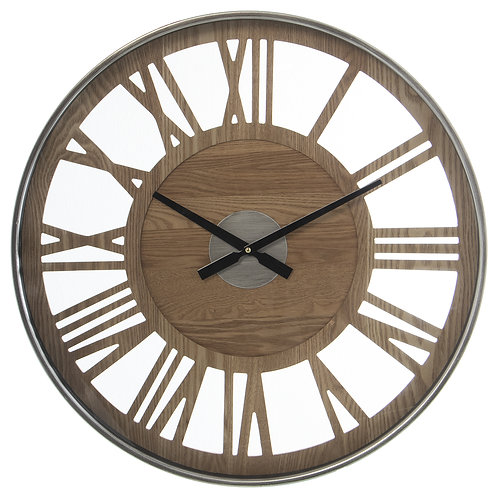 Brown/Grey Clock