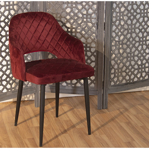 Chair Red Fabric