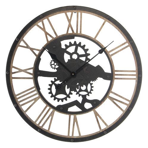 Light Wood Clock