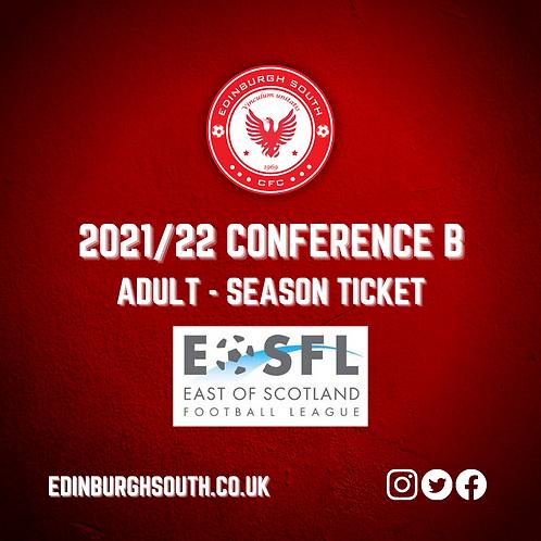 2021/22 Season Ticket - Adult