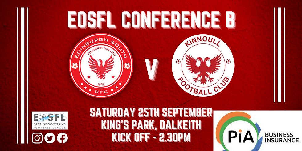 Edinburgh South FC v Kinnoull FC