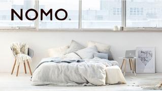 Nomo Home gelanceerd: curated home linen