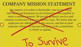 Mission statement: overleven!