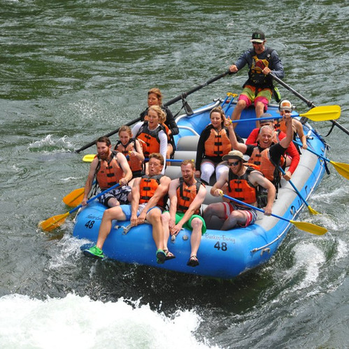 Idaho Falls Summer Rafting Trip