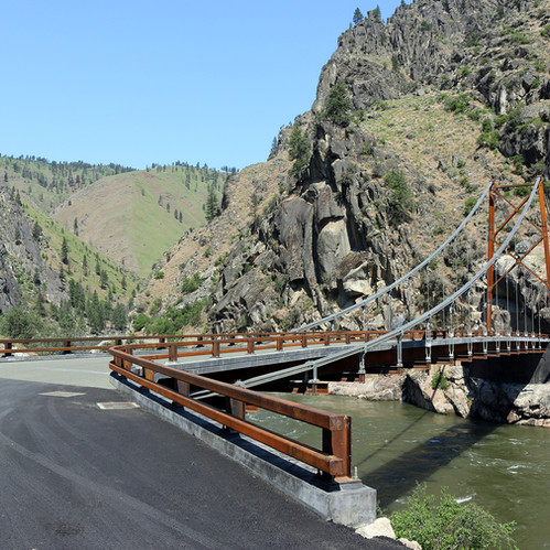 Manning Crevice Bridge Replacement Project Awarded ACEC & ASCE Idaho Awards