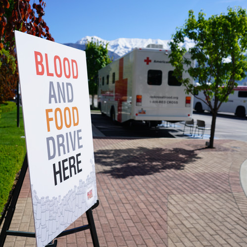 Horrocks Gives Back with Bleed and Feed Event