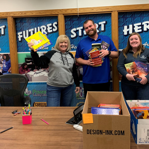 Horrocks Book Drive Gathers 813 Books for Local Youth