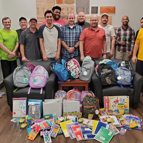 Horrocks Hosts School Supply Drives