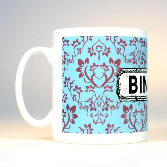 Damask Mug Blue