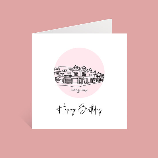 Didsbury VIllage Birthday Card
