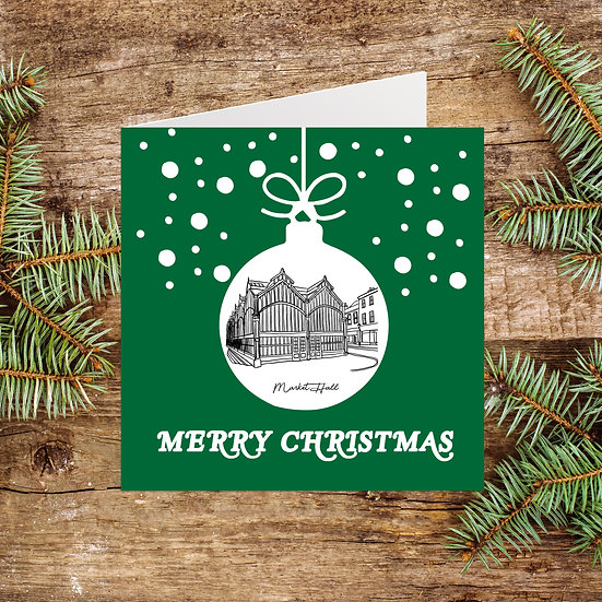 Stockport Market Hall Christmas Card