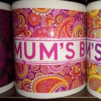 Mum's Brew Red Paisley