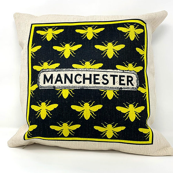 Manchester Bee Cushion