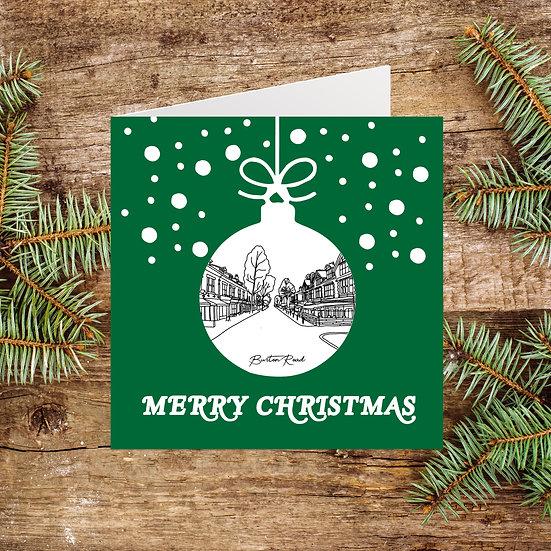 Didsbury Burton Road Christmas Card