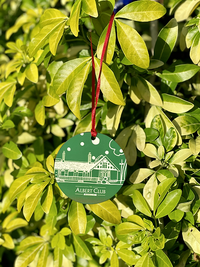The Albert Club Green Bauble (large)