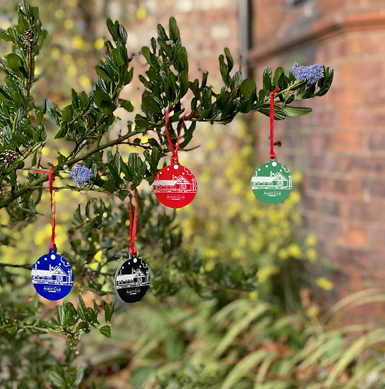 Pack of 4 Baubles (small)