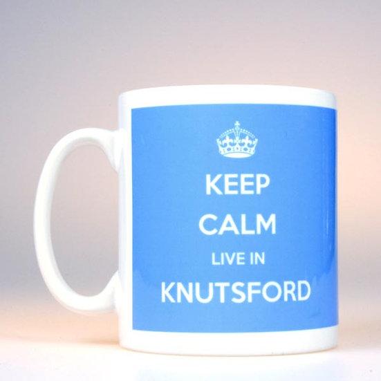 Keep Calm Live In... (Blue)