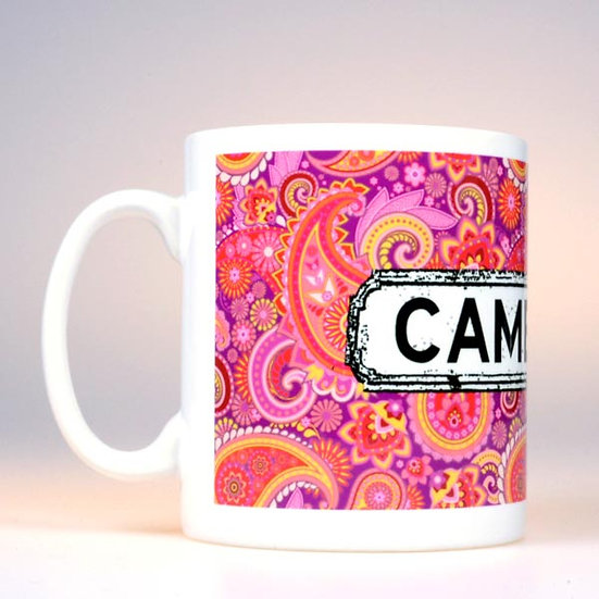 Paisley Mug Multicoloured (Red)