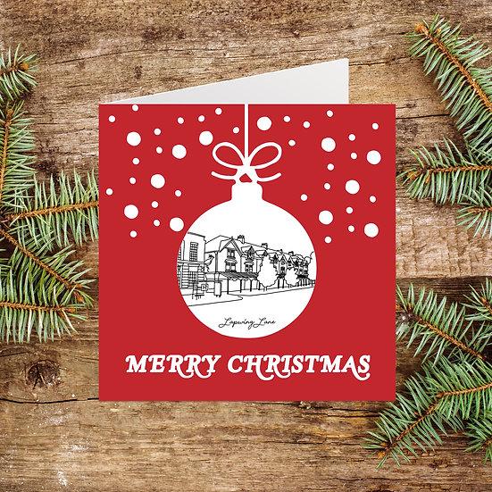 Didsbury Lapwing Lane Christmas Card
