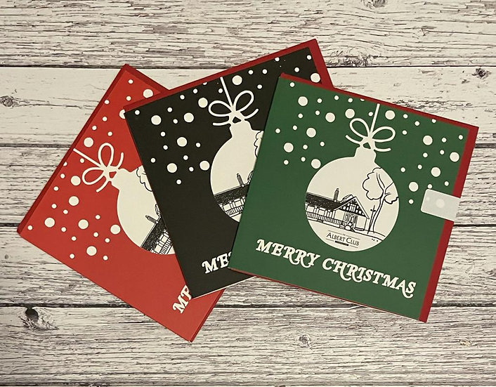 The Albert Club Christmas Card Pack