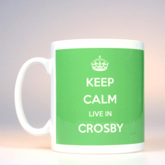 Keep Calm Live In... (Green)