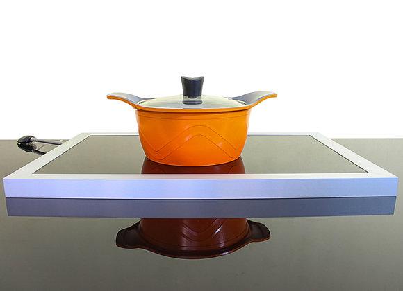 Vidro elétrico para aquecimento de  pratos e panelas