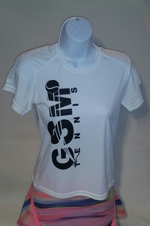 Badger Sport Core Girls Short Sleeve Tee, with GSM Logo