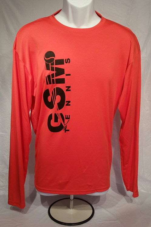 A4 Cooling Performance Adult L/S Shirts, with GSM Logo (additional colors)