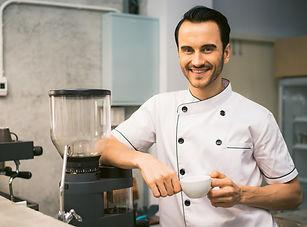 Hotelpersonal chef de cuisine koch butle