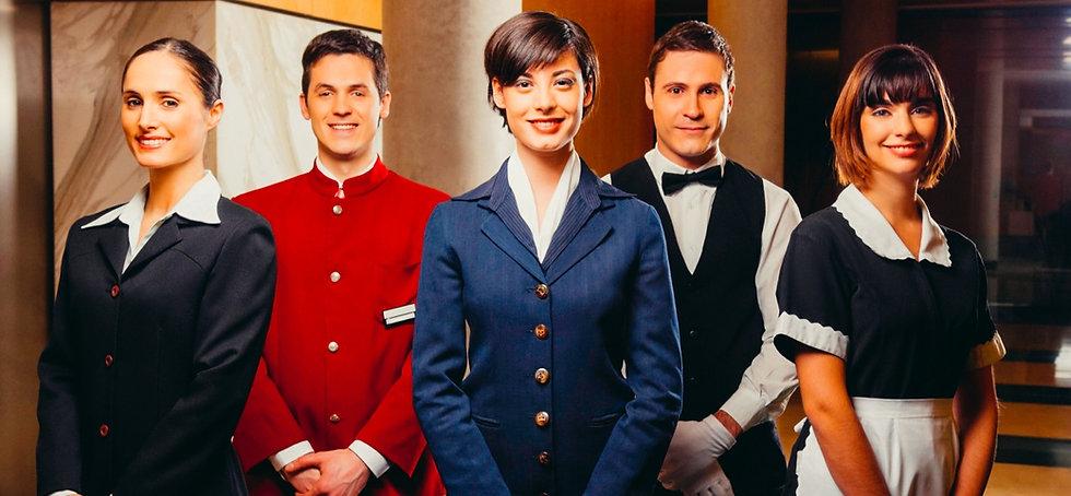 Butler, Haushälterin, Hausmädchen, Nanny, Concierge - Exklusives Haushaltspersonal