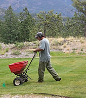 Lupine Lawn Care uses a custom blended and branded fertilizer designed for our soil.