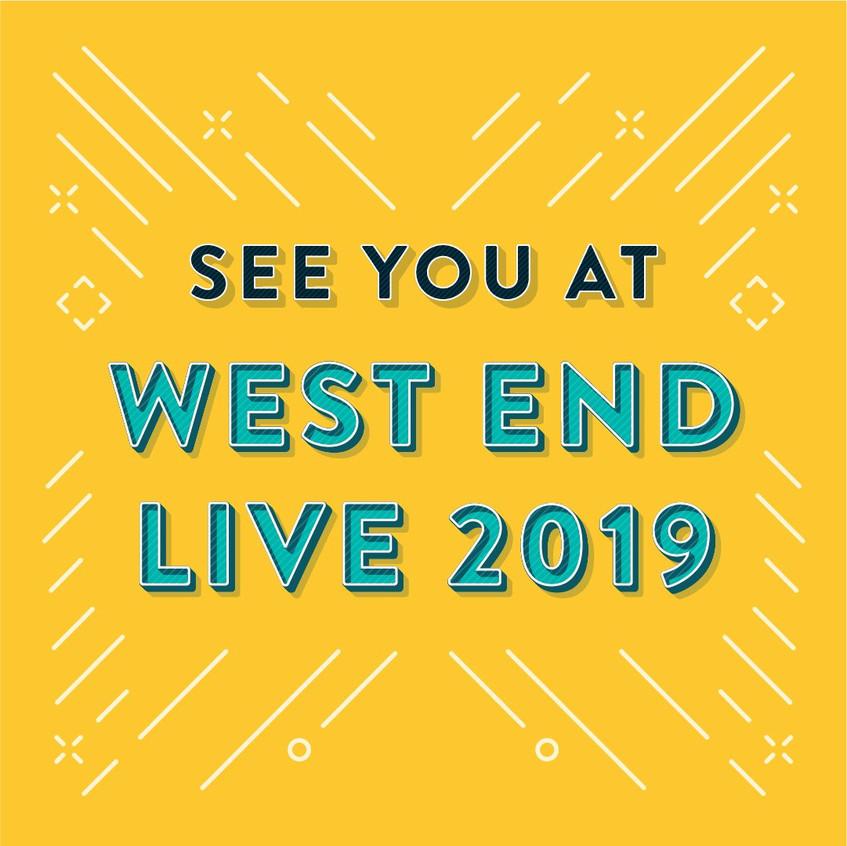 WEST END LIVE 2019