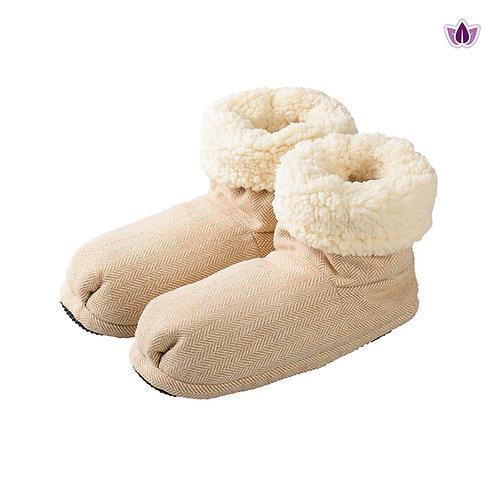 03045 Warmies Kapcie Comfort beżowe