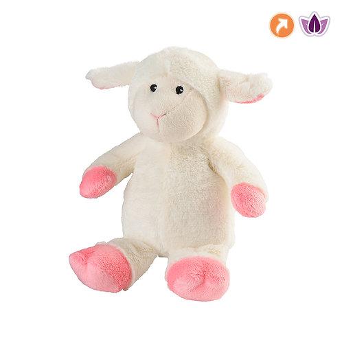 15019 Warmies® beżowo-różowa owieczka MINIS