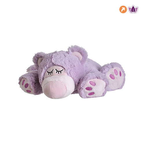 01147 Warmies Fioletowy Śpiący Miś