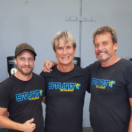 Richard Norton, Colin Handley and Myself training together