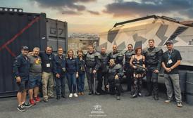 The Garrison7 Stunt Crew and Supa Nova officals