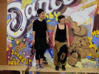 Yasmine El-Aghar und Jeanne Totaro: 10 Jahre bei JuAr Basel