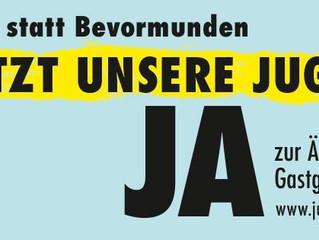 Schützt unsere Jugend: Ja zur Änderung des Gastgewerbegesetzes am 21. Mai 2017