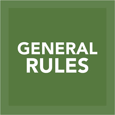 GENERAL RULES FOR WATERING