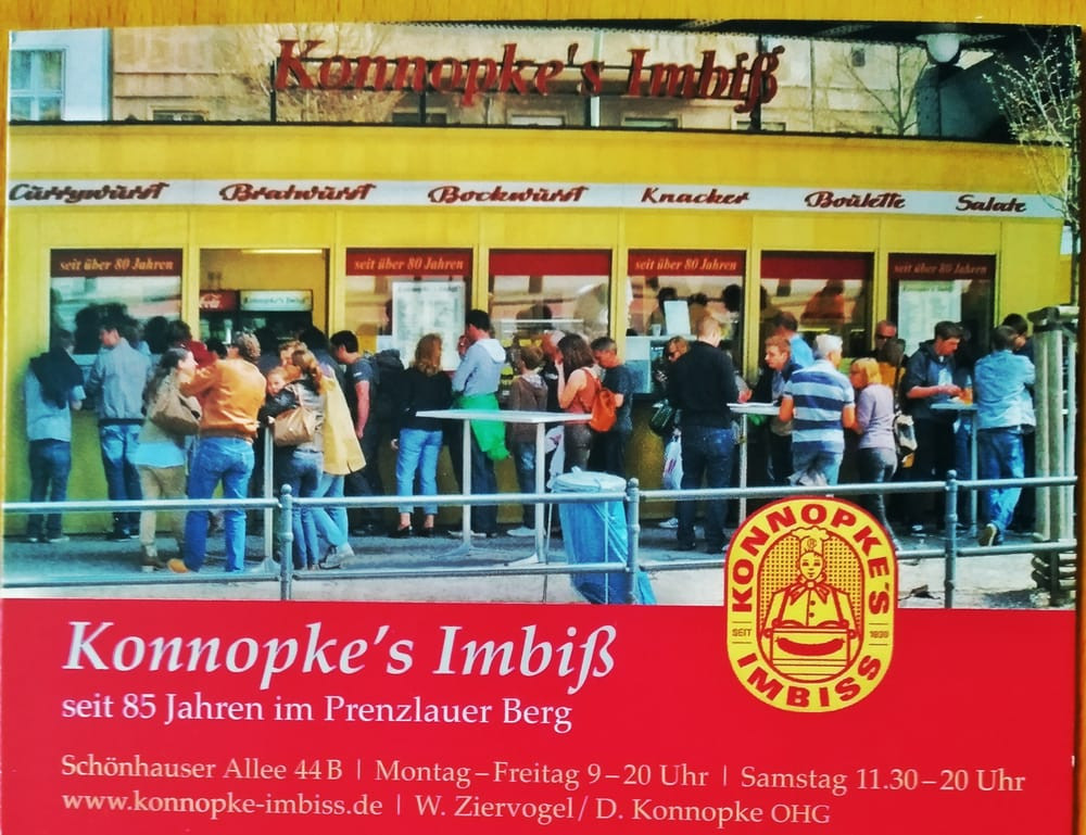 Original Currywurst Berlin Kiosk - The best place to buy currywurst in Berlin