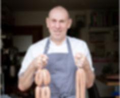 The award winning Sausage Maker, Michael