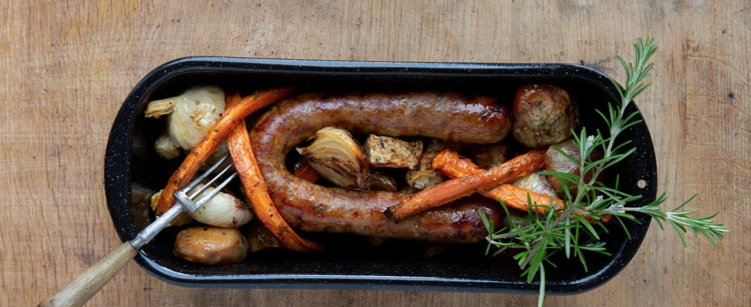 German Bratwurst (Pork & Beef)