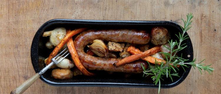Bratwurst sausage - Gluten free German sausage