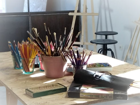 Atelier art peinture dessin créativité