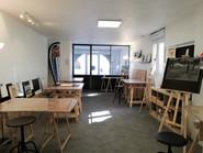 Votre espace individuel dans l'atelier .