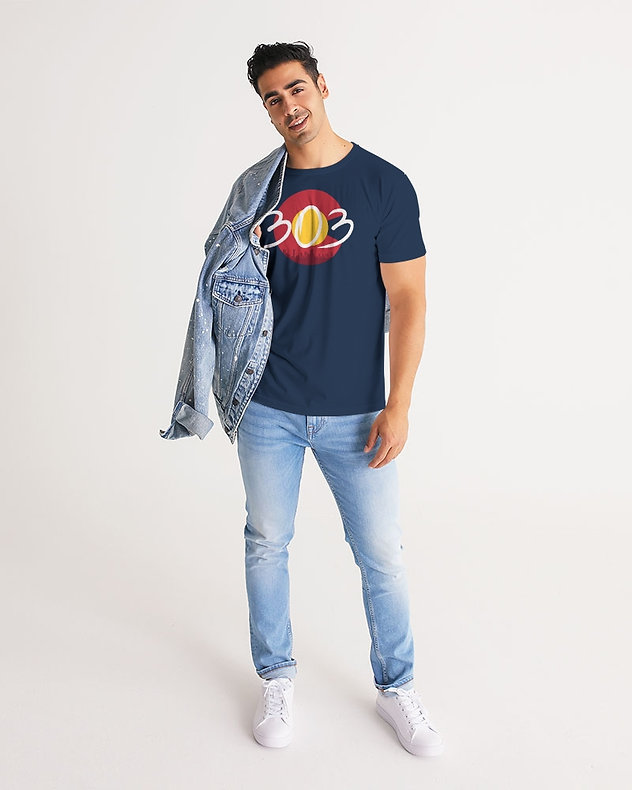 Man wearing Colorado t-shirt