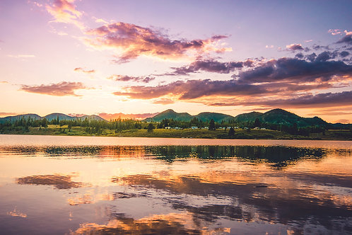 Steamboat Sunset I