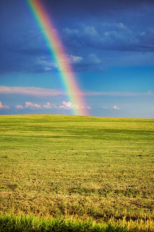 Pawnee Butte Grassland Rainbow