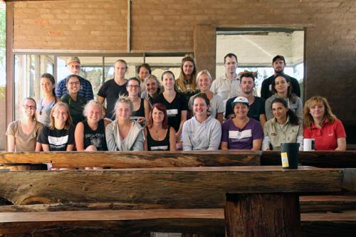 Cheetah Experience Volunteers